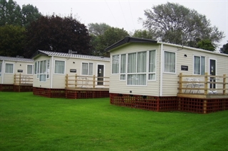 Holiday homes at Porlock Caravan Park